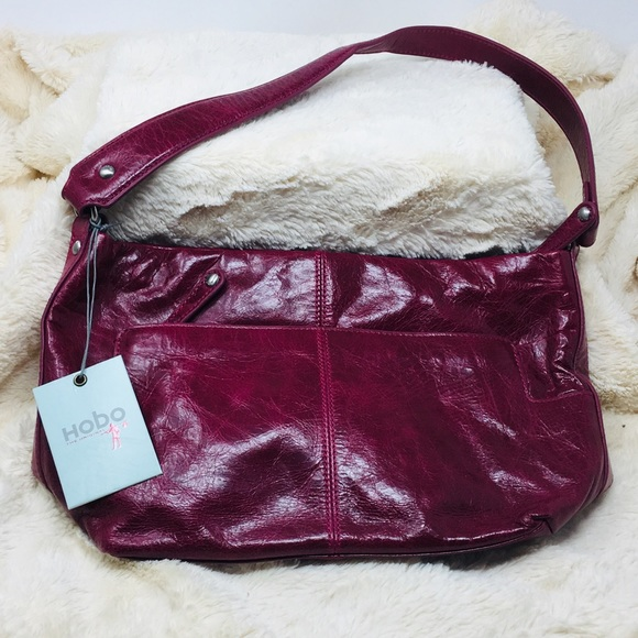 HOBO Handbags - NWT Medium-sized Burgundy Hobo Handbag
